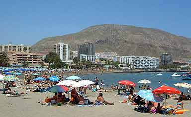 Los Cristianos Beaches Information And Photographs